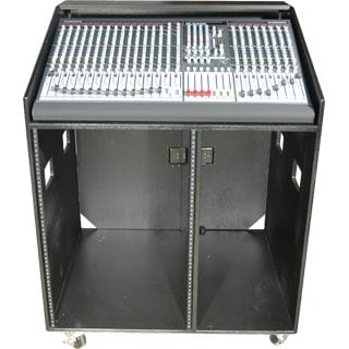 Combo Rack, Studio Series, 16 Space Bottom, W/Casters