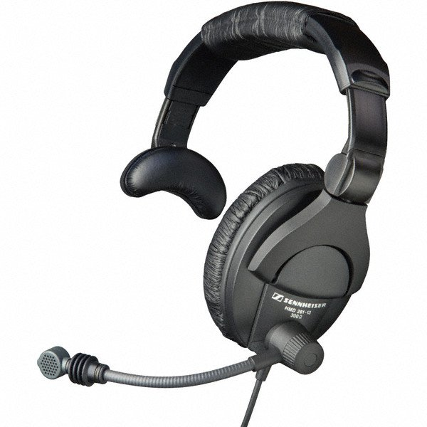 "Headset with Microphone and XLR + 1/4"" Connectors"
