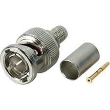 Single 75 Ohm BNC Plug