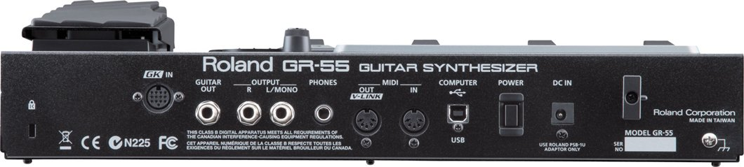 Guitar Synthesizer in Black WITHOUT Pickup