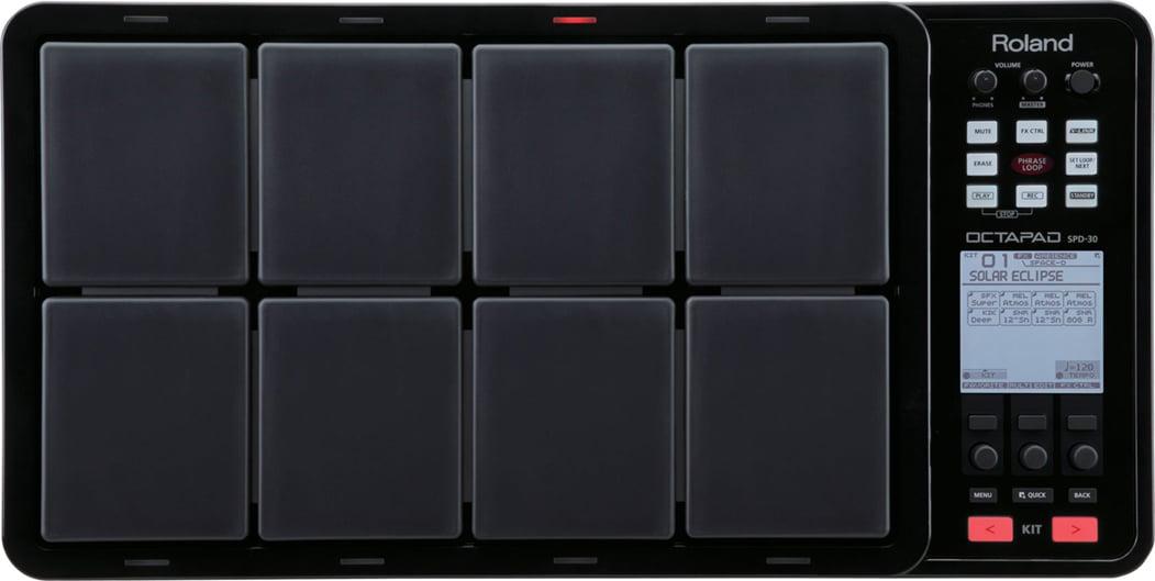 OCTAPAD® Digital Percussion Pad in Black