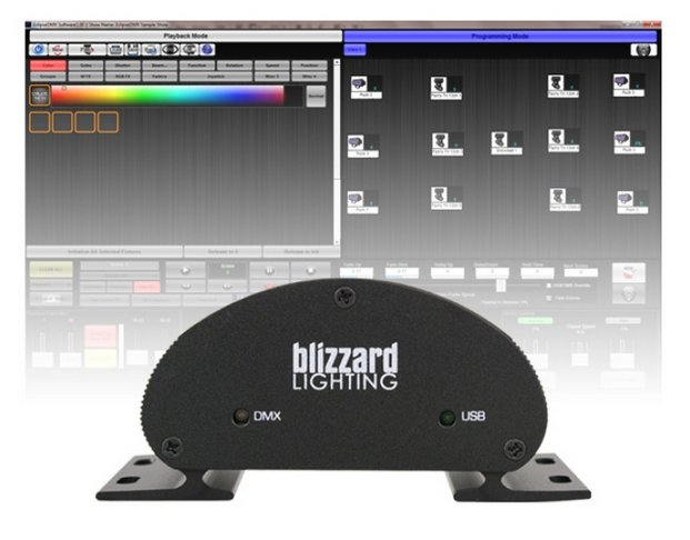 Blizzard Lighting Eclipse DMX Touchscreen Compatible Lighting Software ECLIPSE-DMX