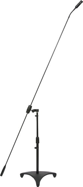 """Carbon Boom Mic w/24"""" Floor Stand"""
