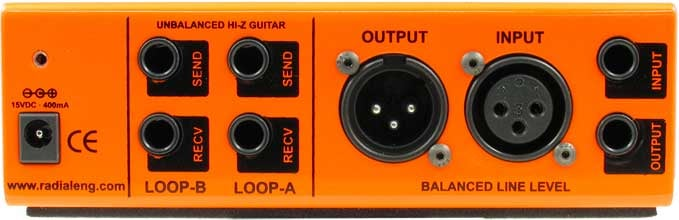 Guitar Effects Interface