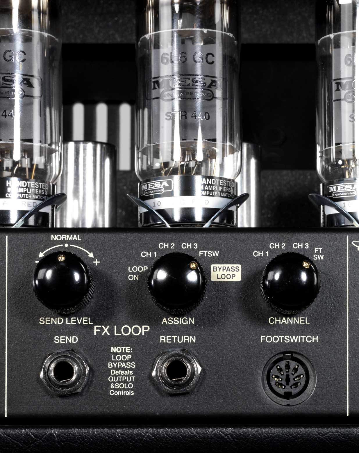 100W 3-Ch Tube Guitar Amplifier Head