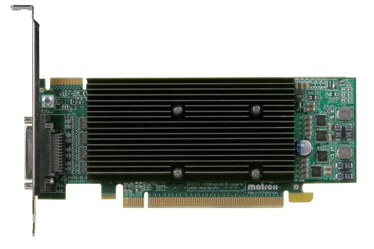 LP PCIe x16 Quad Graphics Card