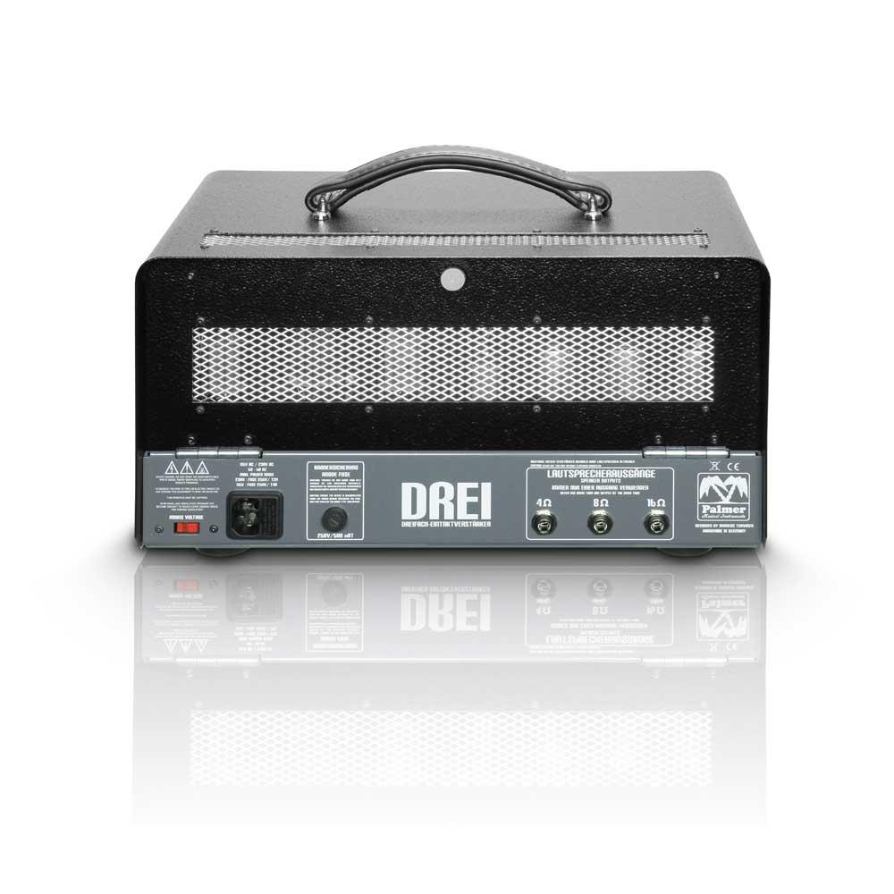 15W Triple Single-Ended Tube Guitar Amplifier Head