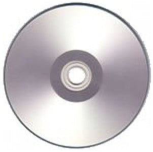 4.7 GB Silver Thermal DVD+R