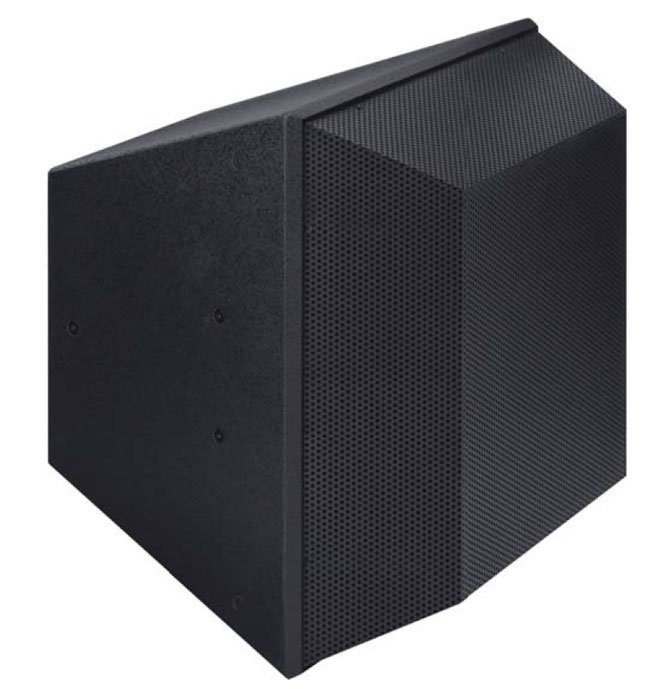 3-Way Full-Range Speaker, 90x45-degree dispersion in White