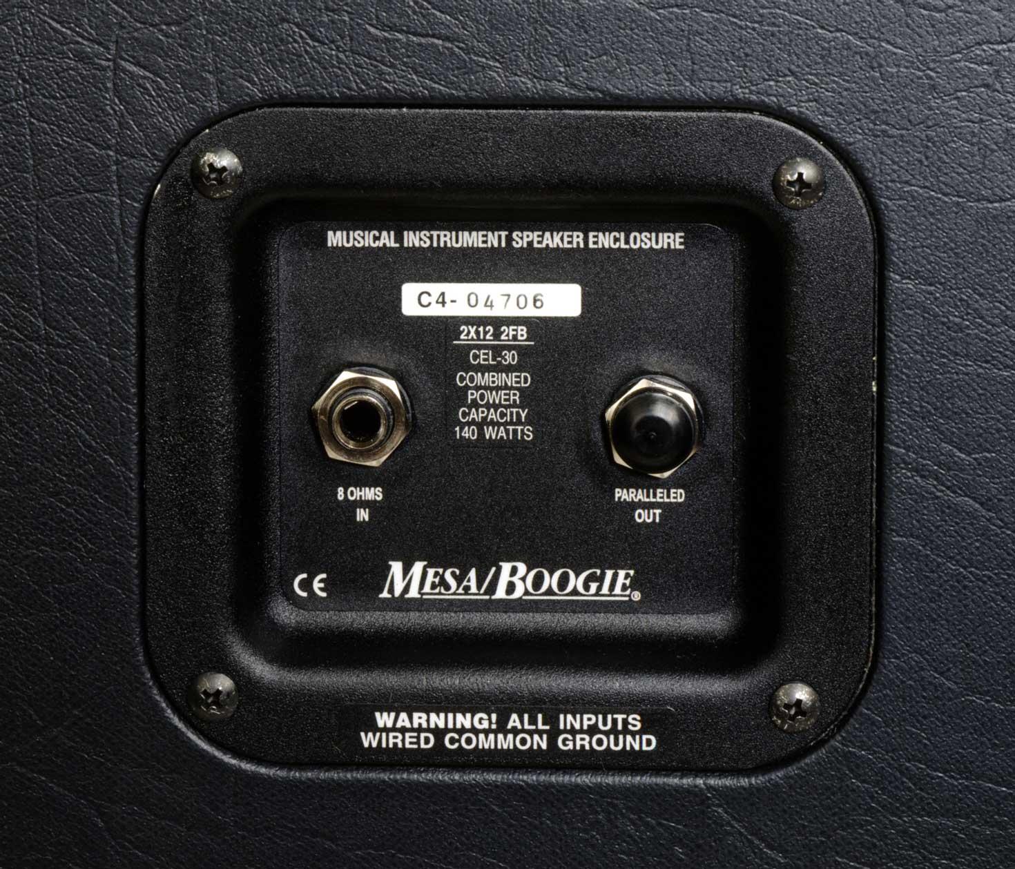 "2x12"" 120W Guitar Cabinet"