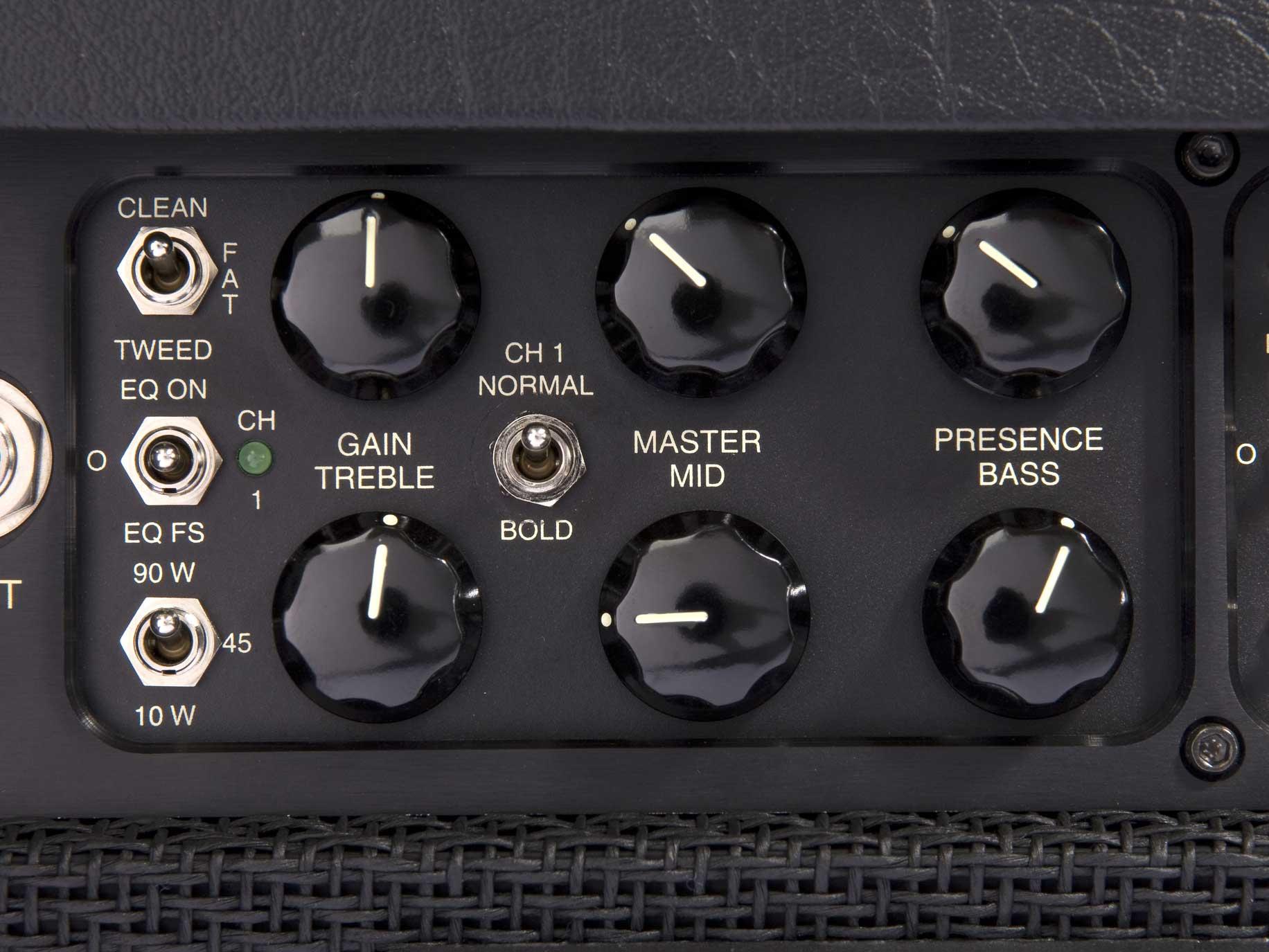 90W 3-Ch Tube Guitar Amplifier Head