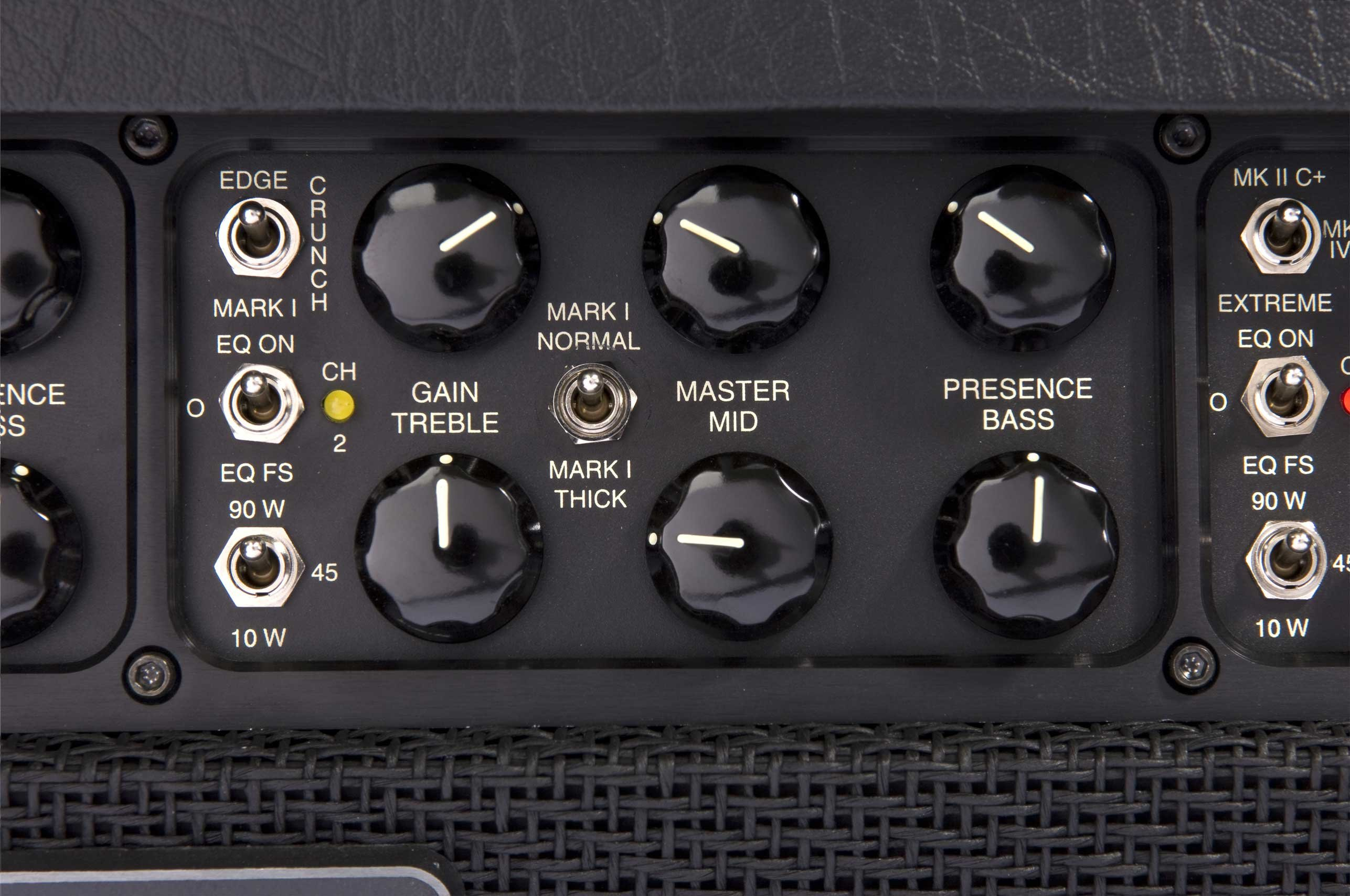 Mark V 90w 3 Ch Tube Guitar Amplifier Head By Mesa Boogie Jack Plate With Switch For Use Cabinets And More