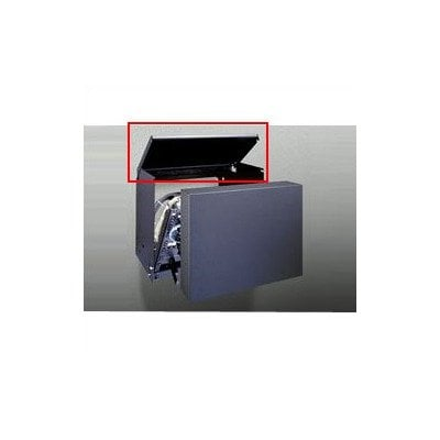 Top Cover for Pivoting Panel Rack Mount (Model PPM8-18)