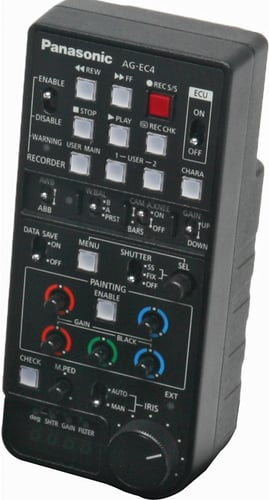 Extension Control Unit for 300Studio, P2Studio Camcorder Systems
