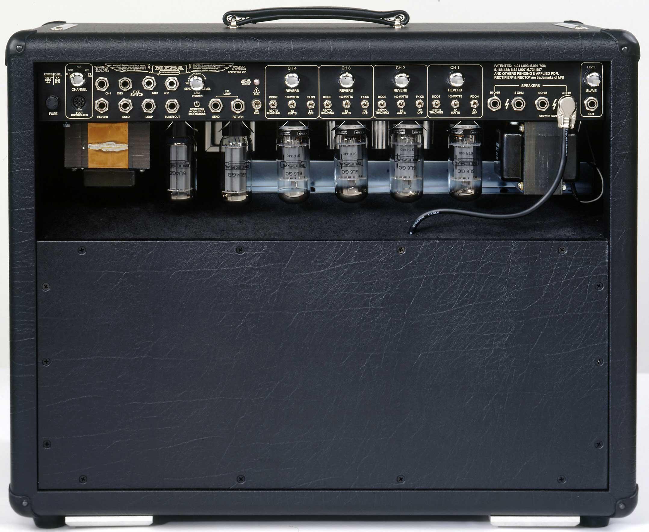 mesa boogie 2x12 wiring diagram mesa boogie ltd dual rectifier roadster 100w 2x12 guitar ...