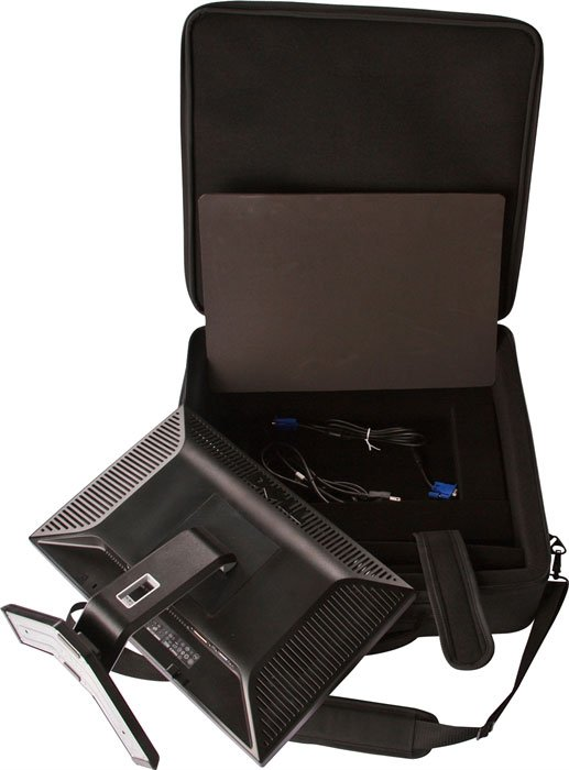 """LCD/Plasma Case, Flts Monitors Up To 22"""""""