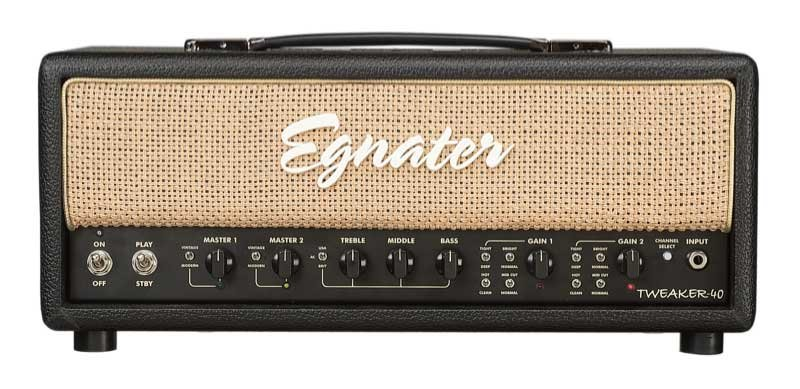 Egnater Custom Amps Tweaker 40 40W 2-Channel Tube Guitar Amplifier Head TWEAKER-40-HEAD