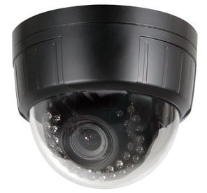 Dome Camera, IR, DC Auto