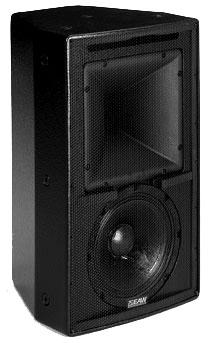 2-way, High Output, Single Amp Speaker