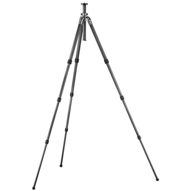 Series 2 Carbon 6X Leveling Tripod, Long