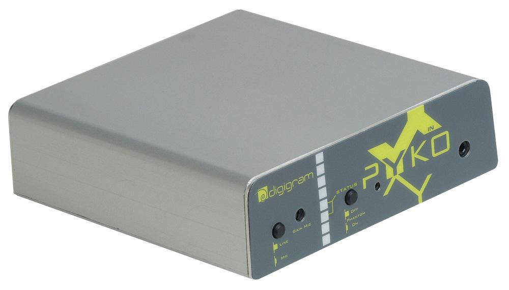 Digigram PYKO-IN-PSA  Input Module Audio over IP  PYKO-IN-PSA