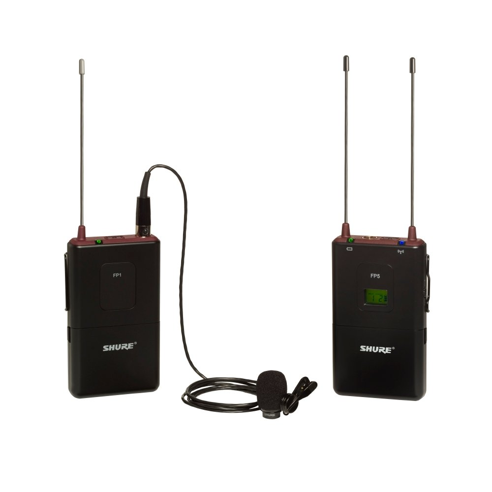 FP Bodypack Wireless System with the WL183 Lav Mic, 518-542