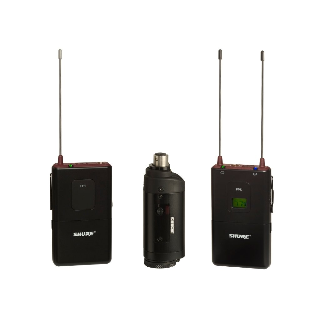 FP Wireless System with Bodypack and Plug-On Transmitters, 470-494