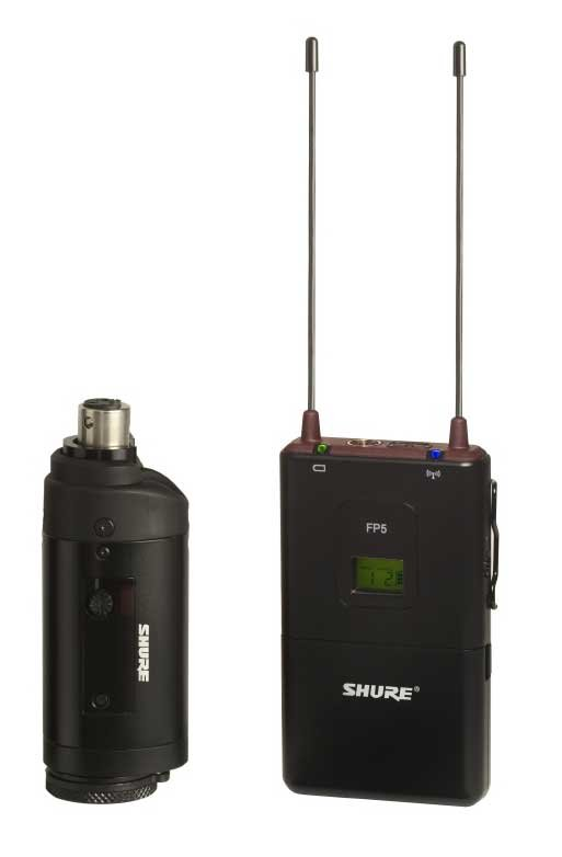 FP Wireless System with the FP3 Plug-On Transmitter, 470-494