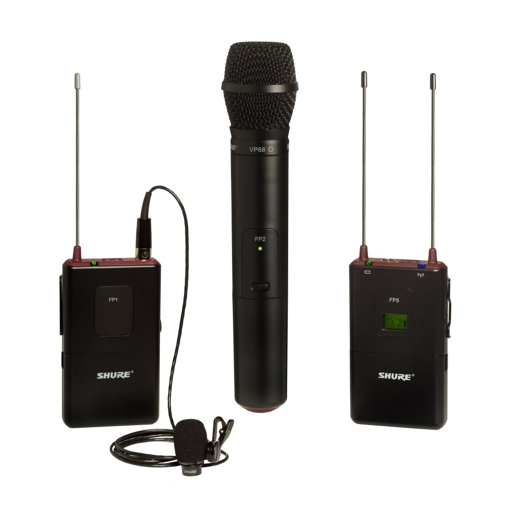 FP Bodypack/Handheld Wireless System with WL183 and VP68, 494-518