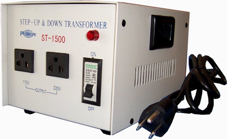 1500 Watt Step Up/Step Down Transformer (110v/220v)
