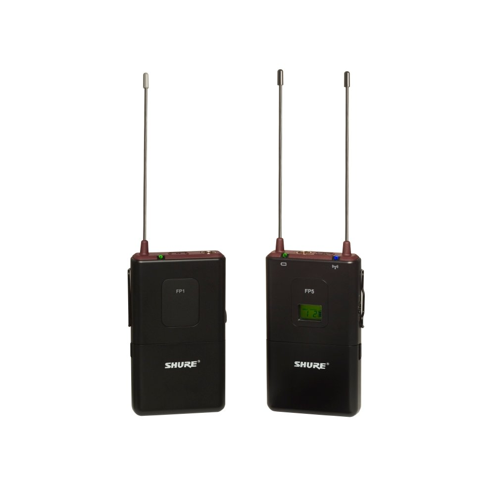 Shure FP15-L4 FP Bodypack Wireless System for Lav, Headset & Instrument Mics, 638-662 FP15-L4