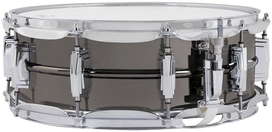 """5""""x14"""" Black Beauty Brass Snare Drum with Black Nickel Finish"""