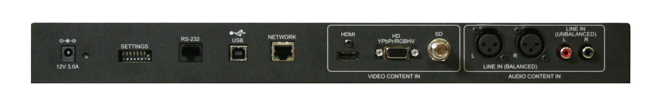 HD Video Encoder/Ethernet & USB