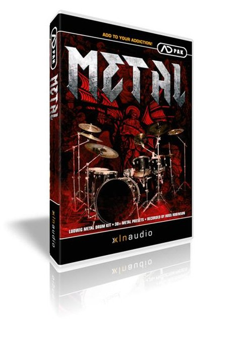 Metal Add-On Pack for Addictive Drums