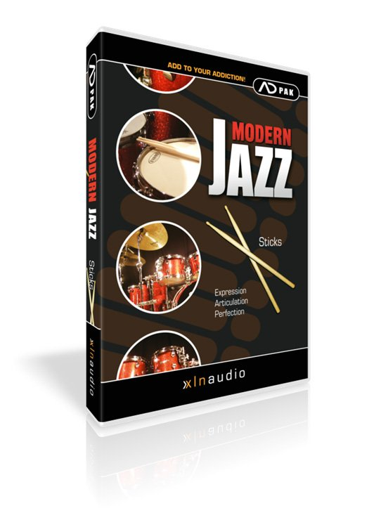 XLN Audio ADPACK-MODERN-JAZZ-S Modern Jazz Sticks Add-On Pack for Addictive Drums ADPACK-MODERN-JAZZ-S