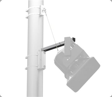 Pole Mount Support Arm, 24""