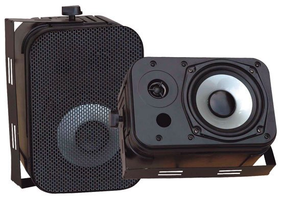 """Pyle Pro PDWR40B 4"""" Outdoor Speaker PDWR40B"""