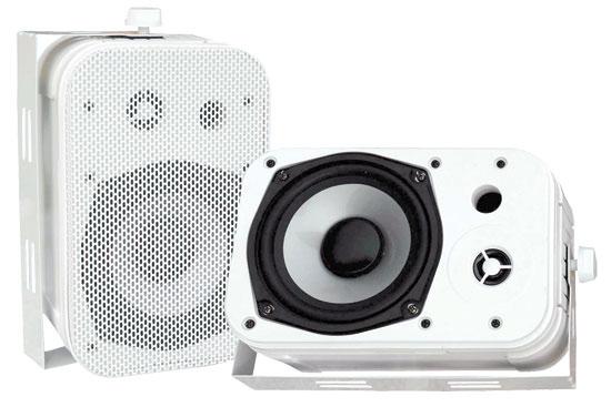 """5.25"""" Outdoor Speaker in White"""
