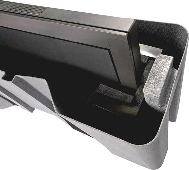 Molded LCD/Plasma Case, Black