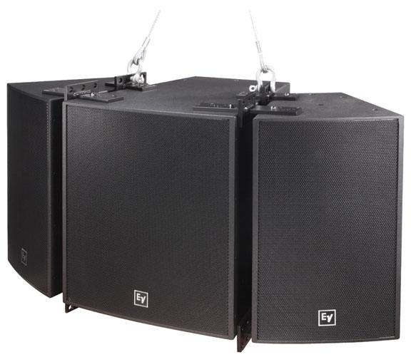 "Dual 15"" Bass Speaker, White"