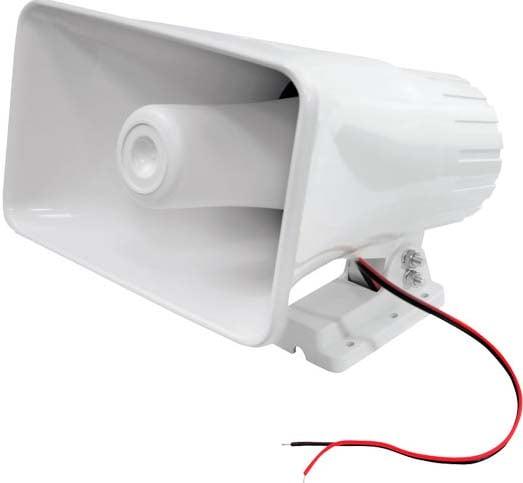 """8"""" 65W Indoor/Outdoor PA Paging Horn Speaker"""
