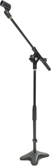 Microphone Stand with Compact Weighted Base