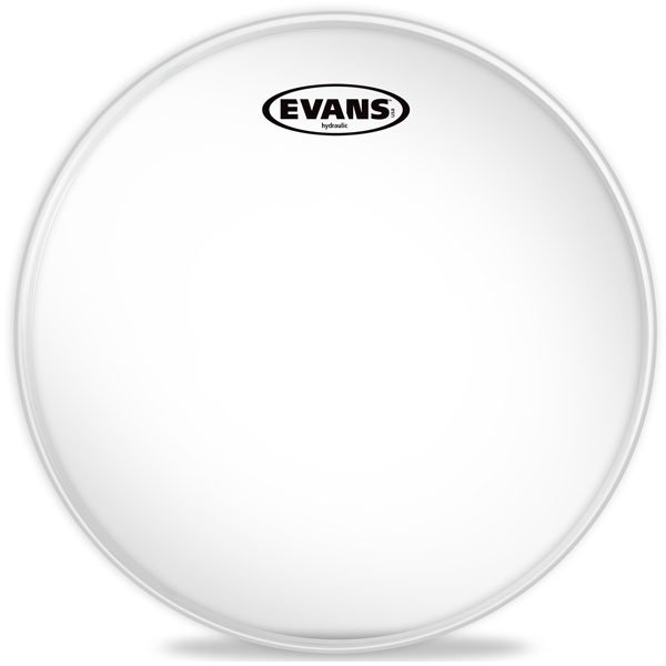 "12"" Hydraulic Glass Clear Drum Head"