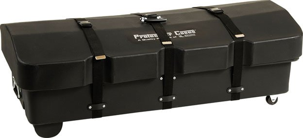 Roto-Molded Drum Accessory Case with Wheels by Protechtor