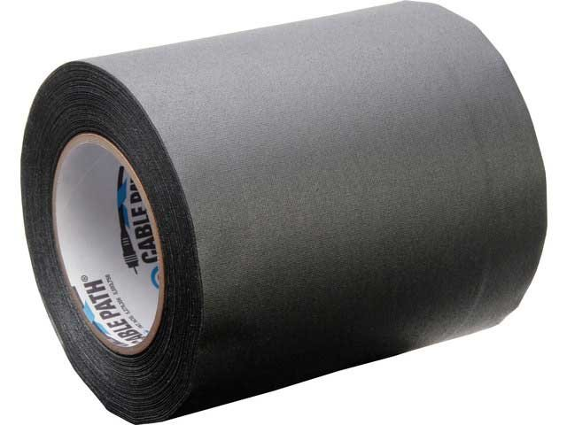 "30 Yard Roll of 6"" W Black Tunnel Tape"