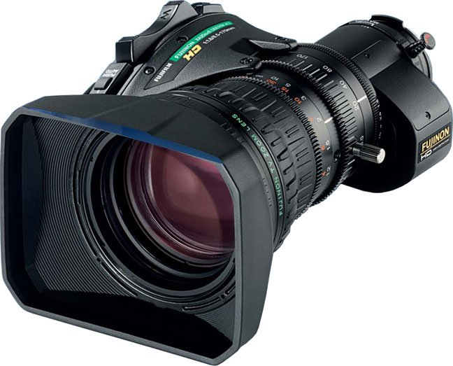 """Telephoto 2/3"""" ENG Lens, HD Zoom w/2X Extender"""