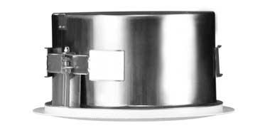 "6.5"" In-Ceiling Coaxial Speaker, White"