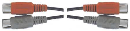 3.3' Dual MIDI Cable