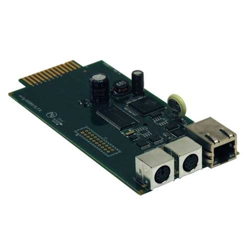 Network Card For Remote Monitoring, Control via SNMP, Web or Telnet