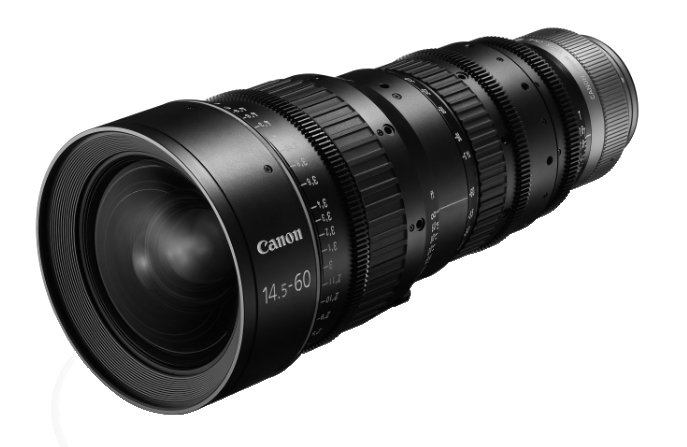 CN-E 14.5-60mm T2.6 L SP PL Mount Cinema Zoom Lens